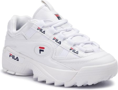 Fila D FORMATION Sneakersy niskie whitenavyred