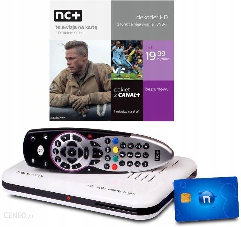 Dekoder Nc Na Karte.Sprzęt Audio Z Outletu Produkt Z Outletu Tuner Dekoder Telewizja Nc Na Kartę 1m Start Tnk Ceny I Opinie Ceneo Pl