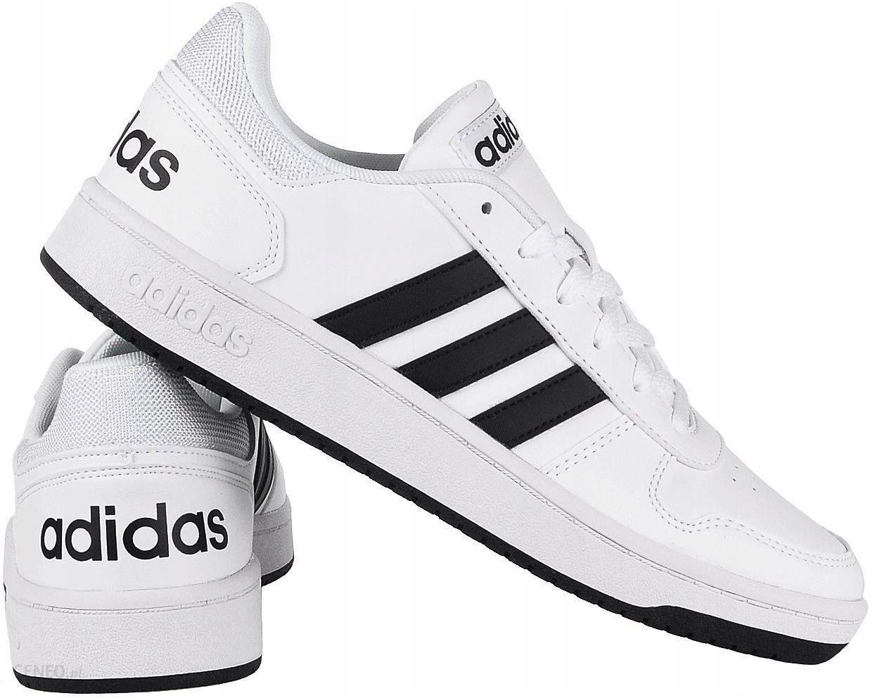 Adidas Hoops 2.0 Buty męskie Białe r.43 13 Ceny i opinie Ceneo.pl
