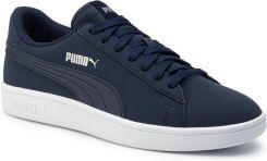 Sneakersy PUMA Smash V2 Buck 365160 15 PeacoatPuma SilverWhite