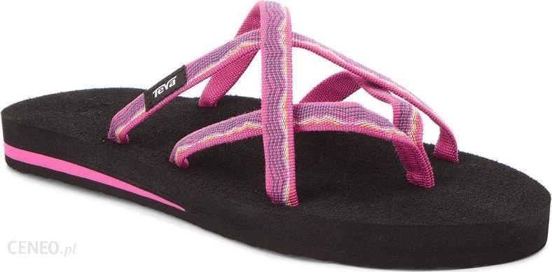 separation shoes 4057f 76b1b TEVA Japonki damskie W'S Olowahu różowo-czarne r. 41 - Ceny i opinie -  Ceneo.pl