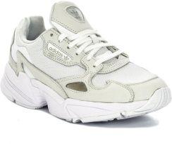 Tanie Buty Do Biegania Damskie Adidas Falcon Biały   Outlet