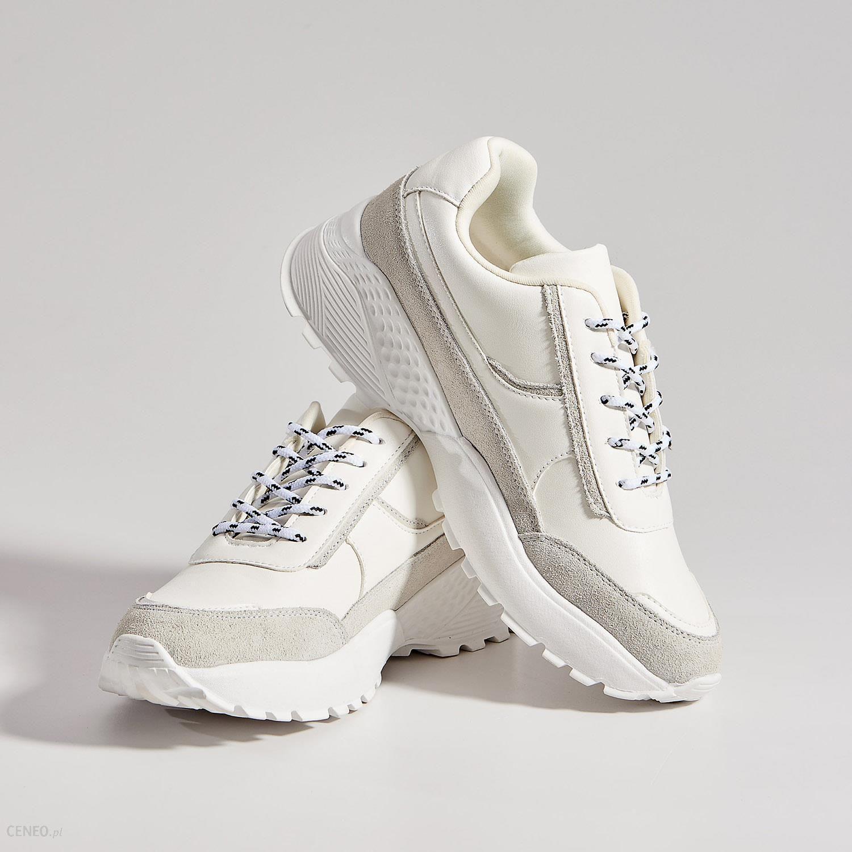Mohito Sportowe buty typu chunky Biały