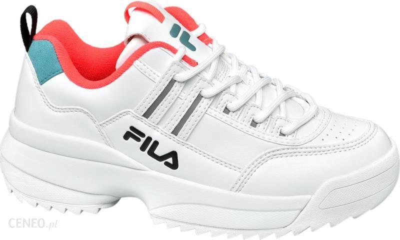 Sneakersy FILA Disruptor Straps Wmn 1010859.1FG White