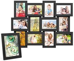 Amazon Mvpower Ramka Do Kolażu 12 Zdjęć O Wymiarach 10 X 15 Cm I 1 Stojąca Na Zdjęcie 13 18 Cm Zestaw Obramowania Zdjęć Dekoracji D Ceneopl