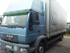 MAN 12.224 LE220B 11,99dmc 5-7t ład. winda BAR1,5
