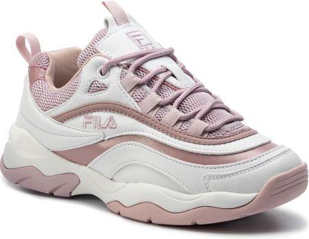 Sneakersy FILA Ray M Low Wmn 1010763.00K WhiteSilver