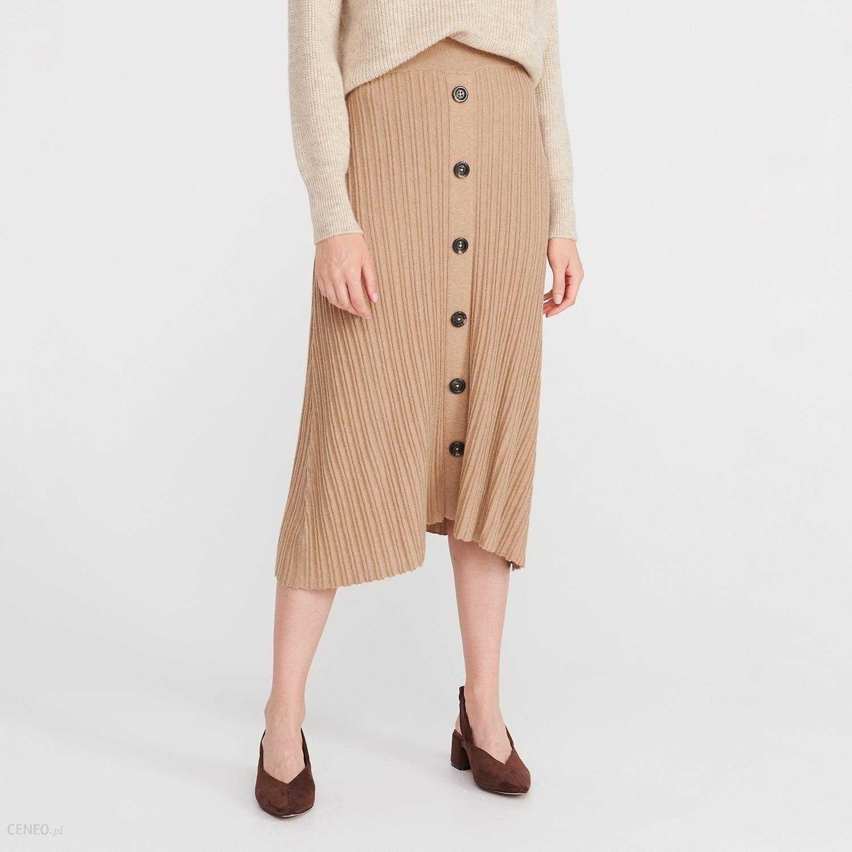 Dzianinowa spódnica mini Reserved Spódnice dzianinowe
