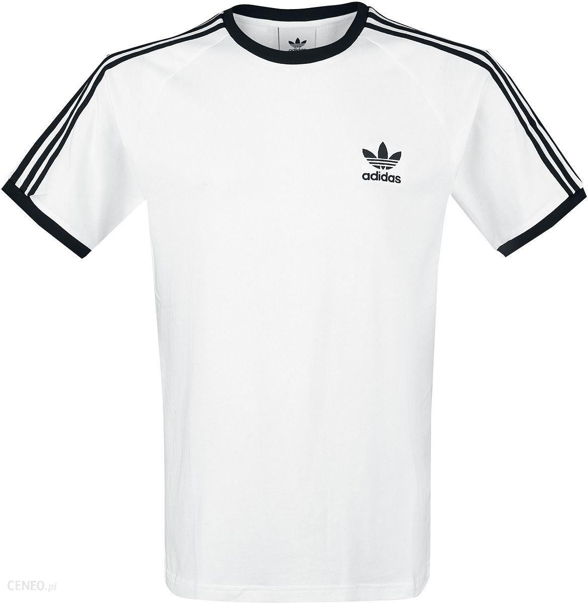 Adidas 3 Stripes Tee T Shirt Mężczyźni białyczarny