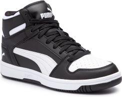 Buty młodzieżowe Rebound Layup Puma (czarno białe) sklep