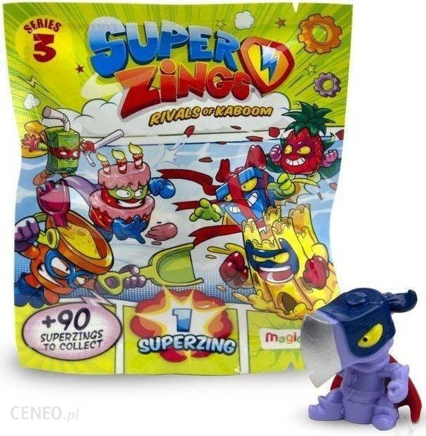 Magic Box Super Zings Seria 3 Saszetka Z Figurką