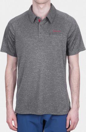Klasyczna koszulka Marmot Drake Polo S/S - slate grey - Ceny i opinie T-shirty i koszulki męskie FXPK