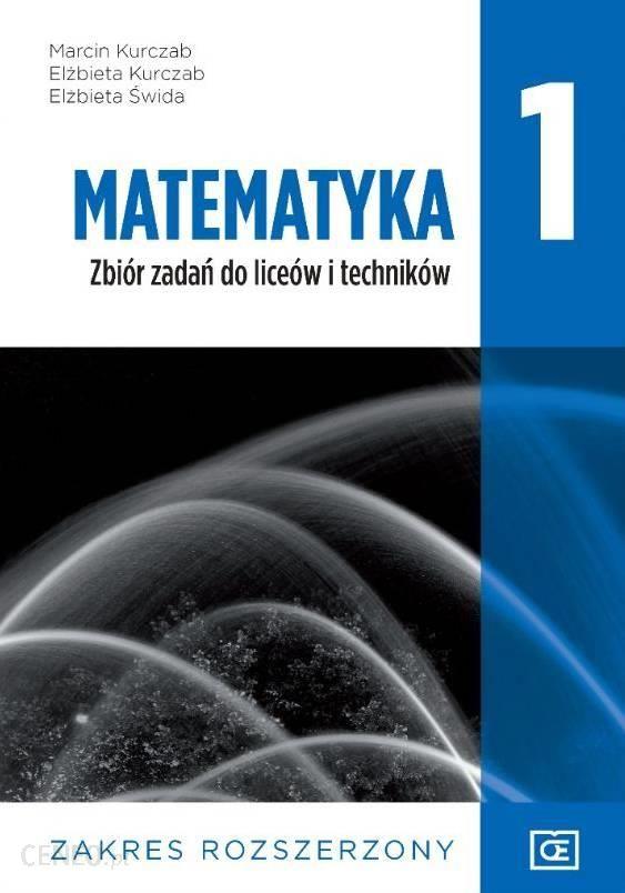 matematyka podręcznik zakres rozszerzony szkoła ponadgimnazjalna