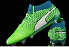 Buty piłkarskie korki One 18.1 Mx SG Puma (greenwhitedeep