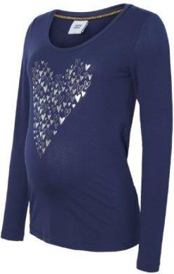 0a437577e9ae81 mama licious Koszula z długim rękawem MLPAULLINE - niebieski - Gr.Odzież  ciążowa