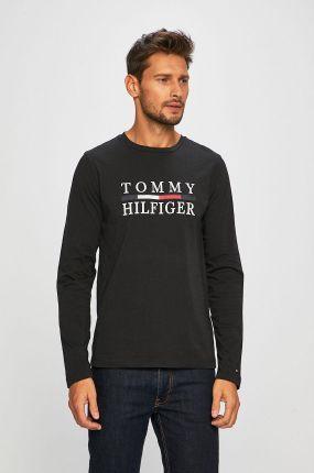 3ff027dd4c498c Tommy Hilfiger CREWNECK SLIM FIT Bluzka z długim rękawem black ...
