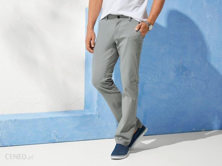 0bfef909 LIVERGY Spodnie męskie typu chino