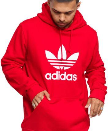 Czerwone Bluzy męskie Adidas Rozmiar L Ceneo.pl