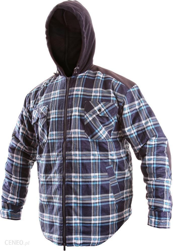 Koszula flanelowa Ocieplana bluza z Kapturem XXL Ceny i  pMbN5