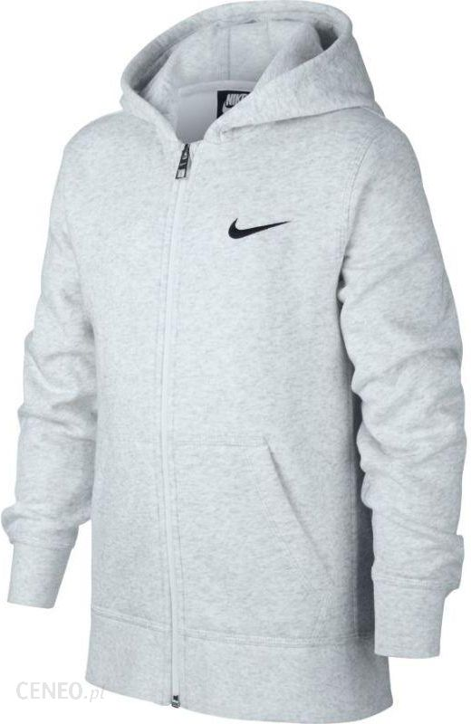 Nike Dry Hoodie FZ Fleece charcoal heatherblack