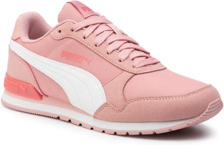 Puma buty dziecięce Vikky v2 Mid SL Jr White Peach Parfait