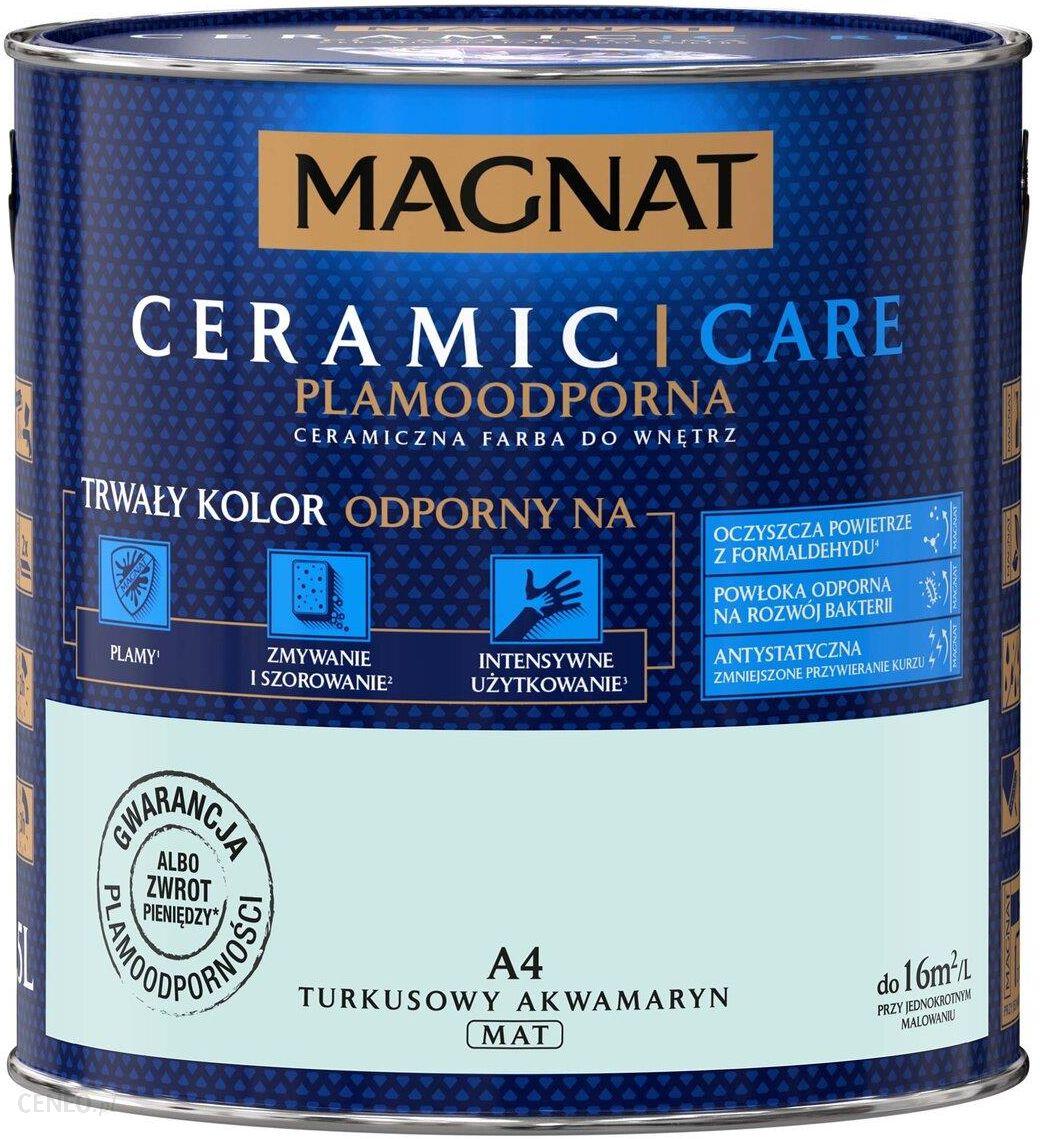 Magnat Ceramic Care Turkusowy Akwamaryn A4 2,5L