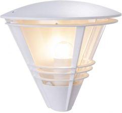 białe lampy zewnętrzne