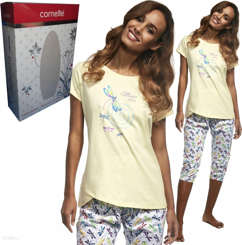Cornette piżama damska 345148 Dragonfly ważki L Ceny i opinie Ceneo.pl