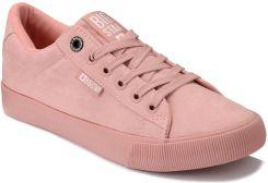 Oryginalne trampki różowy szkolne buty damskie młodzieżowe