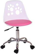 Dziewczęce Krzesło dla dziewczynki QZY 1447 różowe Łódź