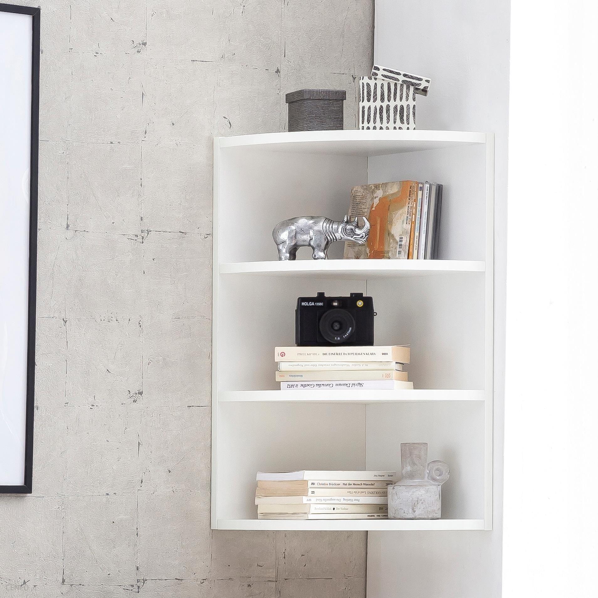Wohnling Półka ścienna 30x60x30cm Półka Narożna Opinie I Atrakcyjne Ceny Na Ceneopl