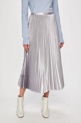 fef9ae38 Mohito - Pudrowa plisowana spódnica z połyskiem - Różowy - damski ...