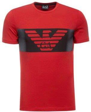 Adidas Performance CORE18 Koszulka sportowa bobluewhite
