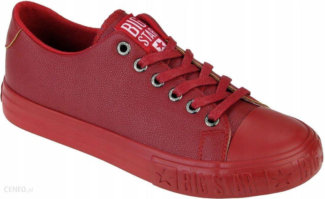 Trampki damskie buty Big Star EE274250 czerwone 39 Ceny i opinie Ceneo.pl