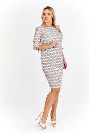 ba5ee419 PtakModa - Sukienka szmizjerka LA BLANCHE - Ceny i opinie - Ceneo.pl