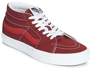 Tenisówki Vans U Classic Slip On Czerwone Lakierowane