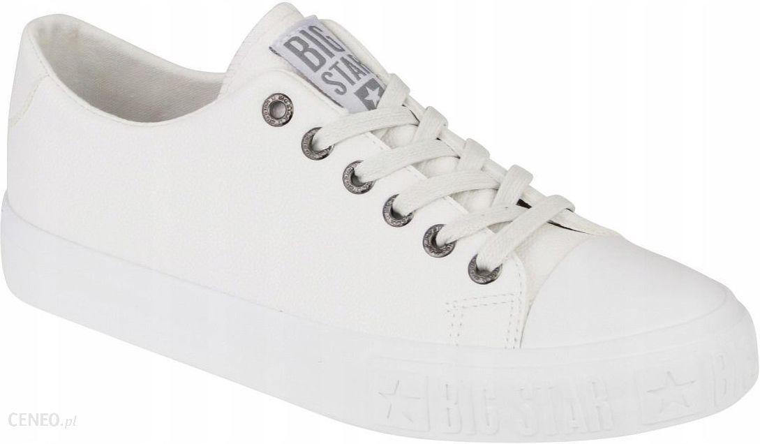 Trampki damskie buty Big Star EE274248 białe 37 Ceny i opinie Ceneo.pl