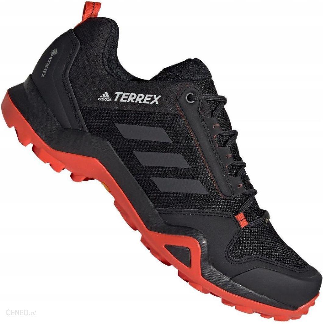 Czarne Buty adidas Terrex AX3 Gtx M G26578 | Sportowe męskie