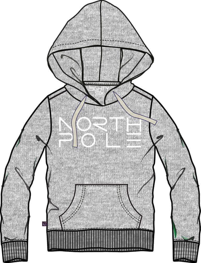 North Pole bluza chłopięca z kapturem 98 niebieski Ceny i opinie Ceneo.pl