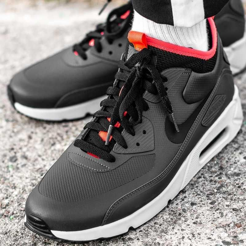 Buty Męskie Nike Air Max 90 Ultra Mid Winter Se Wolf Grey