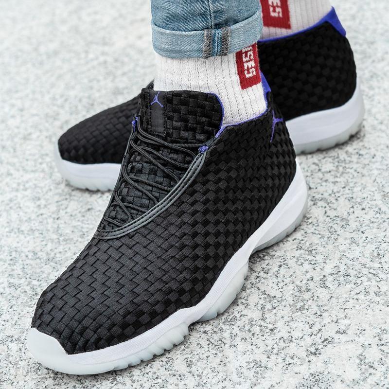 Black NIKE Air Jordan Future   Buty do biegania, Mokasyny