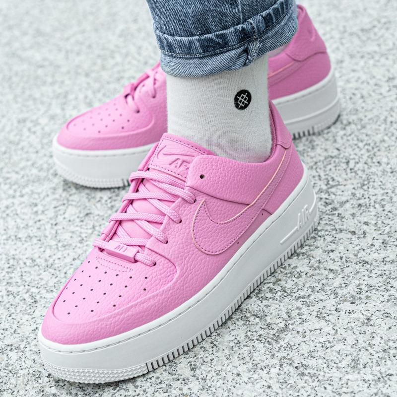 Buty damskie Nike Air Force 1'07 SE Suede Fiolet Ceny i opinie Ceneo.pl