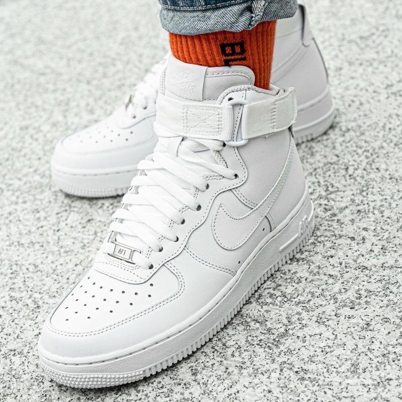Nike Buty damskie Air Force 1 High białe r. 36 (334031 105