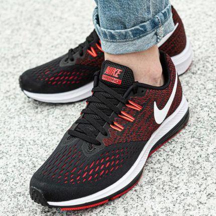 Nike Buty Air Max Tavas Essential 725073 600 Czerwono czarne rozm. 45