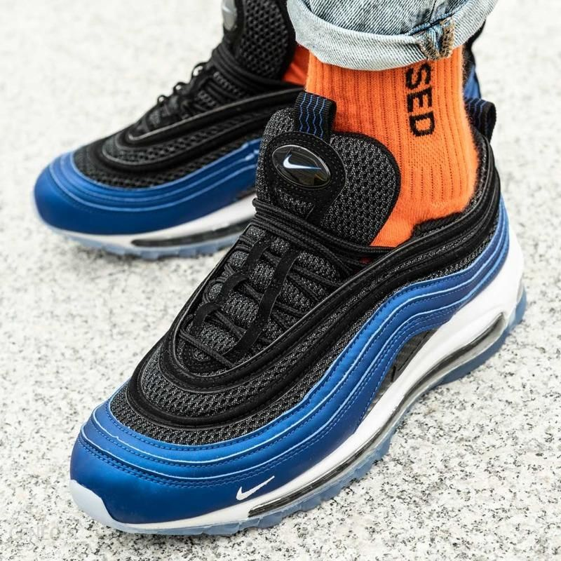 air max 97 blue and orange