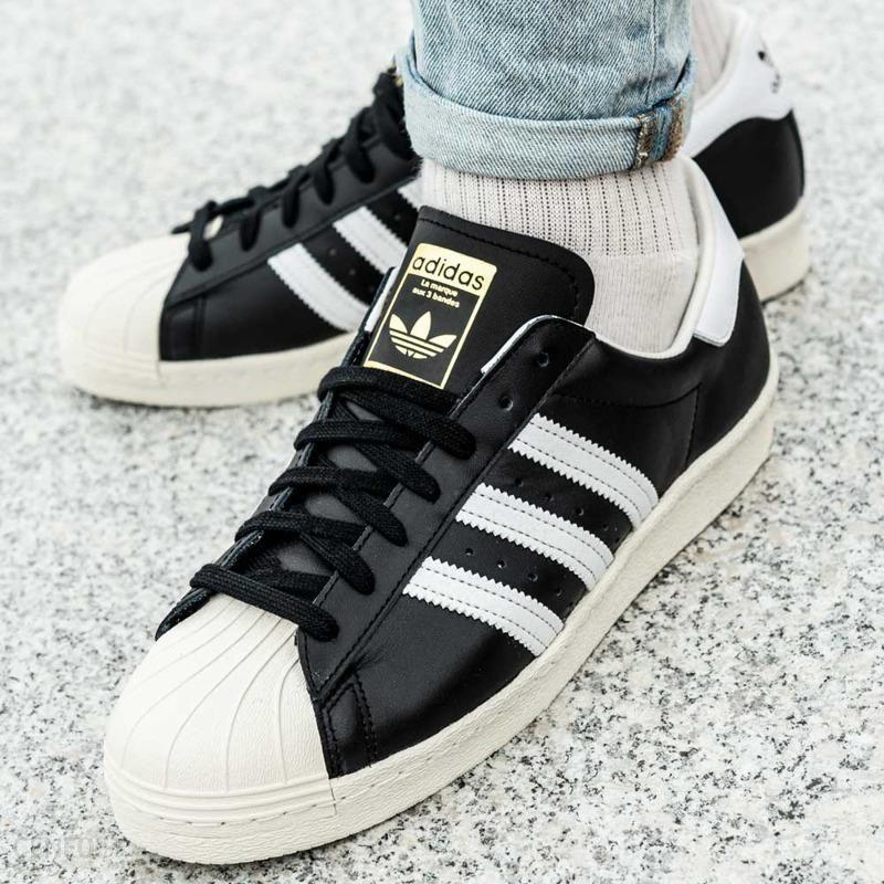Buty Męskie adidas Superstar 80s Czarne | WorldBox [G61069