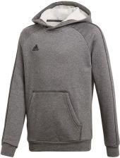 Bluza młodzieżowa Core 18 Hoodie Adidas (grey melange)