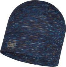 Multi Stripes Merino Wool Beanie Hat by BUFF, denim, One Size Ceny i opinie Ceneo.pl