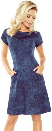 257f1ddc Sukienka ołówkowa midi z wyjątkowym dekoltem zielona B056 - Ceny i ...