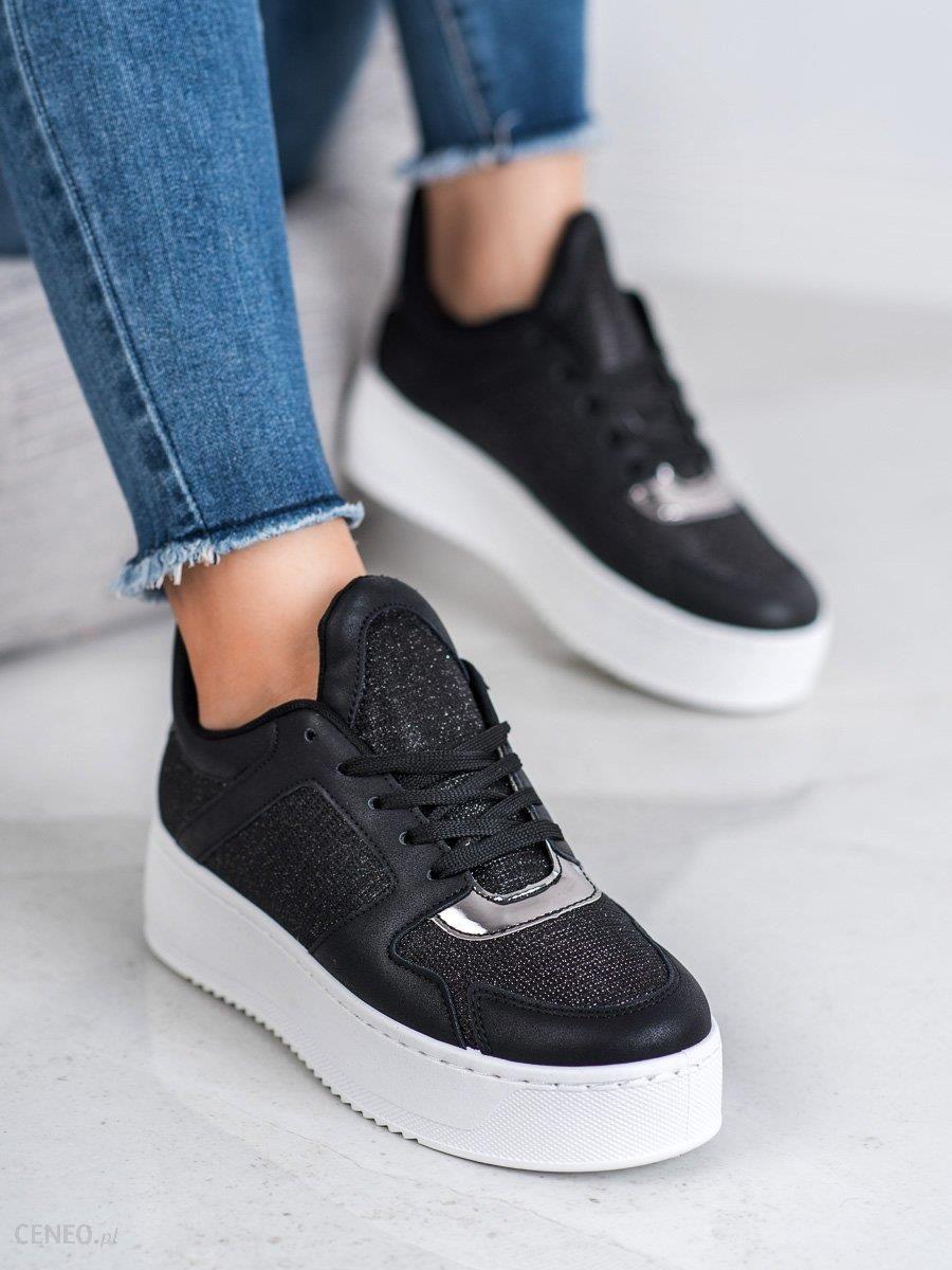 Trampki Nike Damskie Czarne z Czarne Czerwone Ideal 90 Ultra
